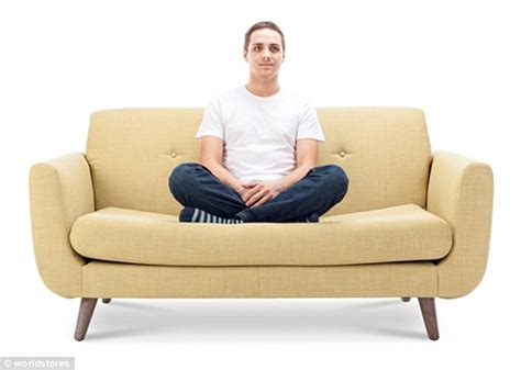 positions on a couch what does your sofa sitting position say about your