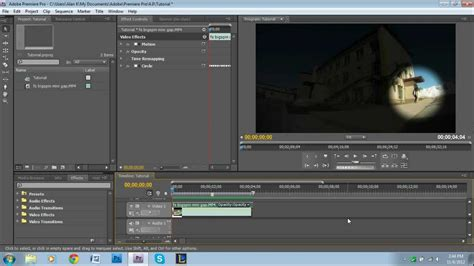 tutorial adobe premiere effects spotlight effect tutorial adobe premiere pro youtube