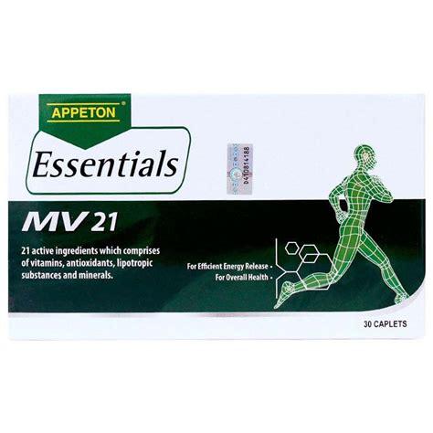 Appeton Essentials appeton essentials mv 21 multivitamin reviews