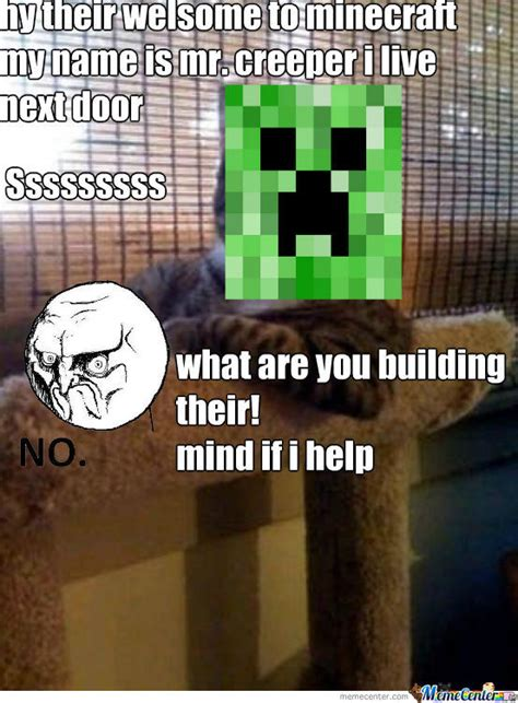 Minecraft Creeper Memes - pin creeper meme center on pinterest