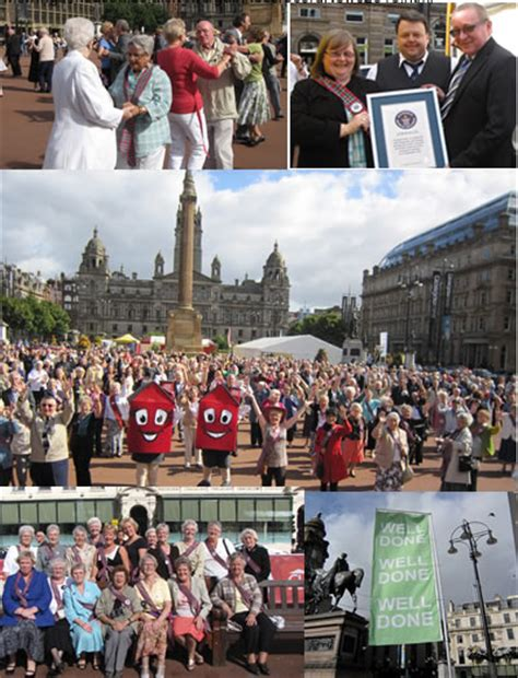 swing band glasgow guinness world record for glasgow scottish swing band