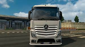 Mercedes Trucks 2014 Lowerd Mercedes Actros 2014 Truck Simulator 2 Spot