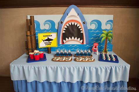 baby shark birthday theme piece of cake declan s 5th birthday shark theme
