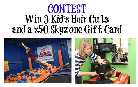 Skyzone Gift Cards - contest 3 free haircuts skyzone gift card entertain kids on a dime blog