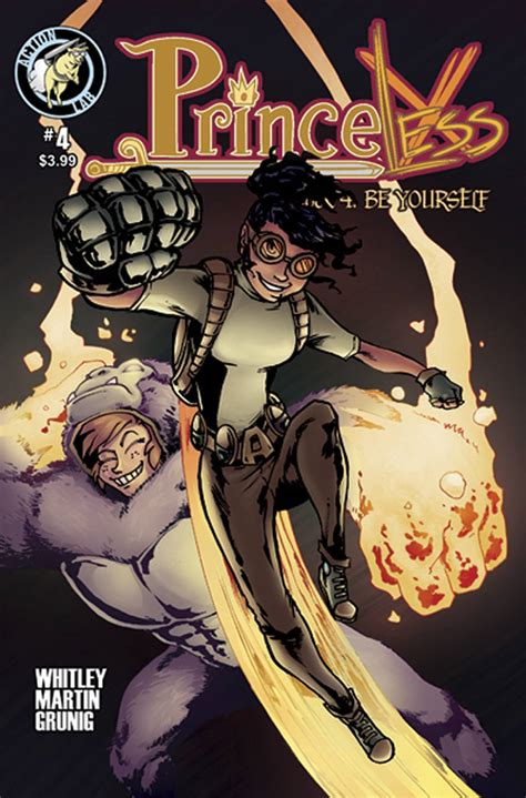 princeless volume 6 make yourself part 2 books emily martin fresh comics