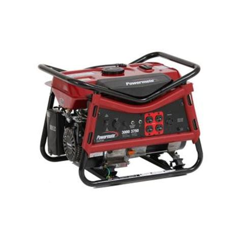 powermate 3 000 watt gasoline powered portable generator