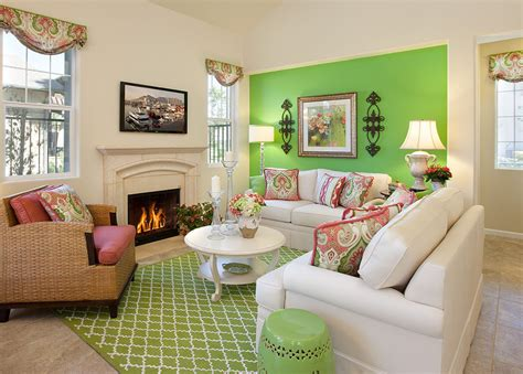 Green Decorating Idea by 23 Green Wall Designs Decor Ideas For Living Room