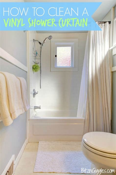 how to remove soap scum from shower curtain how to clean a vinyl shower curtain bitz giggles
