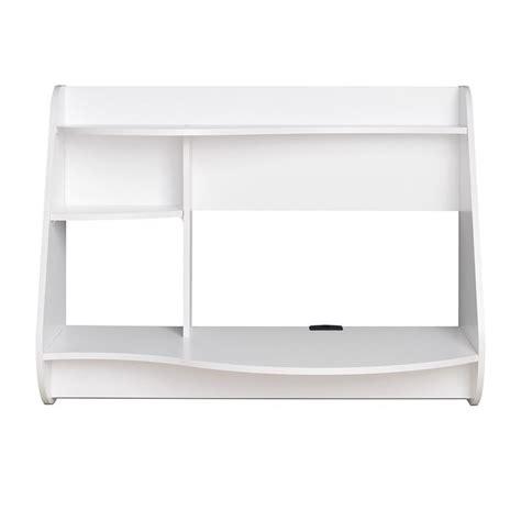 white floating desk floating desk in white wehw 0901 1