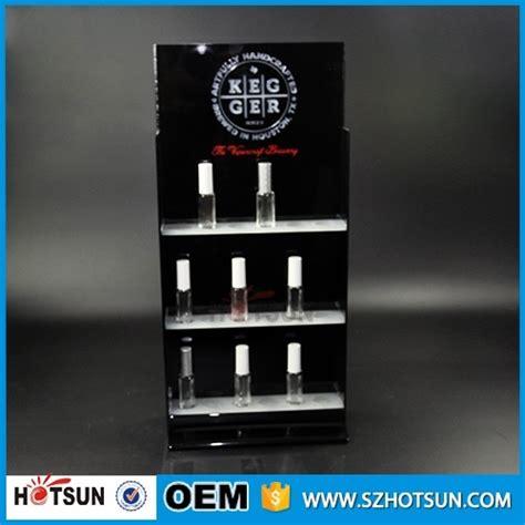 Shelf Of Perfume by Hanging Nail Shelf Display Acrylic Perfume Wall