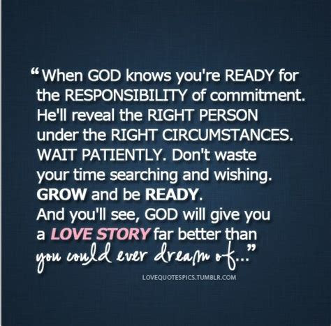 Are You Ready For Your Up by Husband Quote When God Knows You Re Ready For The