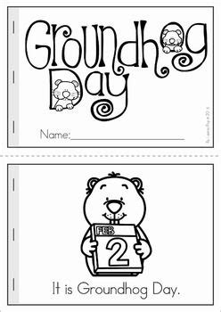 groundhog day kindergarten activities groundhog day preschool no prep worksheets activities