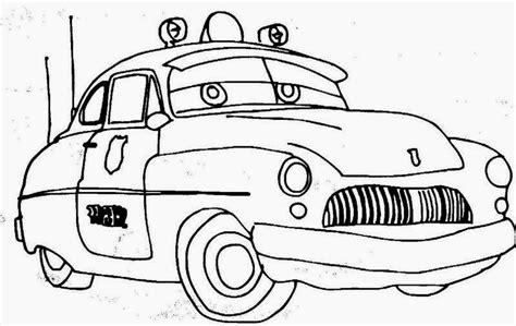 printable untuk anak mewarnai gambar mobil