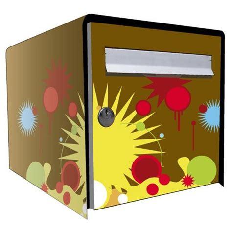 Decoration Pour Boite Aux Lettres by Stickers Bo 238 Te Aux Lettres D 233 Co Graphic 1 D 233 Coration
