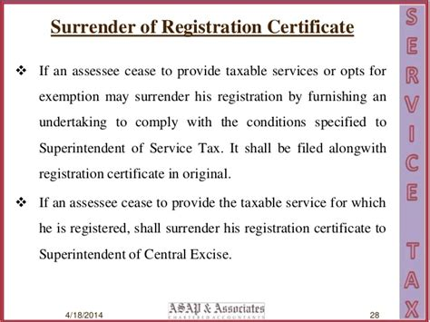 letter format cancellation service tax registration covering letter for service tax registration