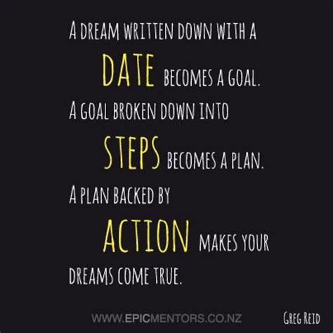 planning your dreams goals plans and dreams betterment pinterest