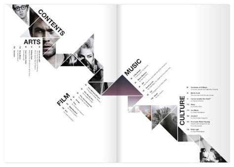 editorial design page layout 99 best page numbers table of contents images on