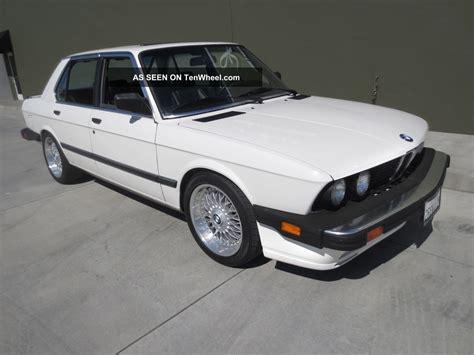 1988 bmw 535is classic 1988 bmw 535is rust e28 california car