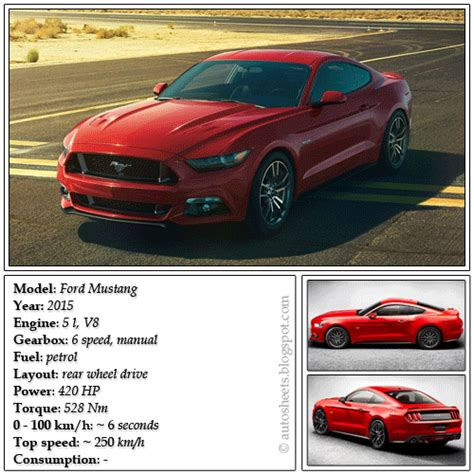 Mustang Auto Data by 2015 Ford Mustang Will Be Unveiled December 5 2013 Html