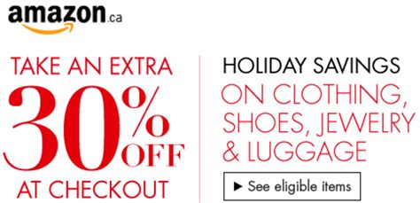 amazon discount amazon canada holiday savings event save an extra 30 off