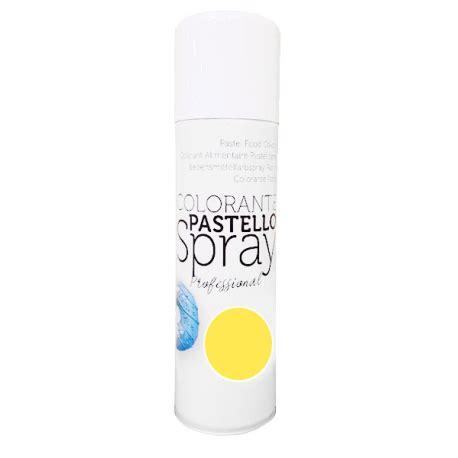 spray alimentare colorante alimentare spray giallo 250 ml