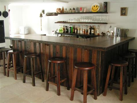 Wooden Bar Counters For Home Bars And Counters Forest Creations