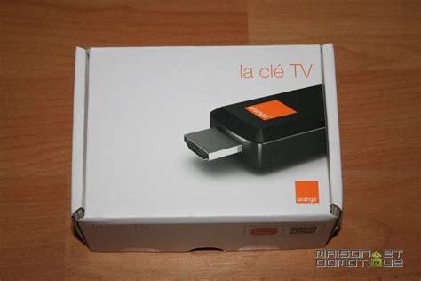 la prise dorange test de la cl 233 tv d orange pour profiter de la tv connect 233 e partout maison et domotique