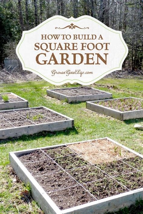 build a square foot garden wired how to wiki square feet 4x4 and squares on pinterest