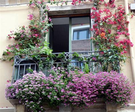 terrazzo fiorito balcone fiorito giardinaggio come avere un balcone fiorito
