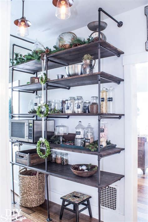 Tips For Making A Diy Industrial Pipe Shelving Unit Page Industrial Shelves Diy