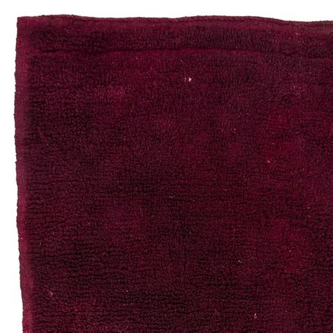 plain rugs for sale plain burgundy color quot tulu quot rug for sale at 1stdibs