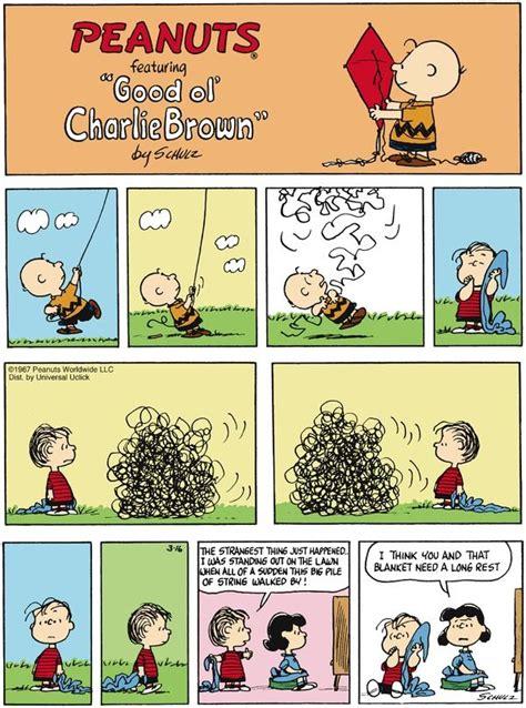 St Snoopy Stripe peanuts comic dialogue inference language arts