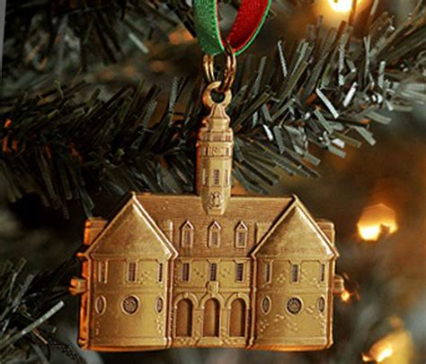 colonial williamsburg capitol christmas ornament
