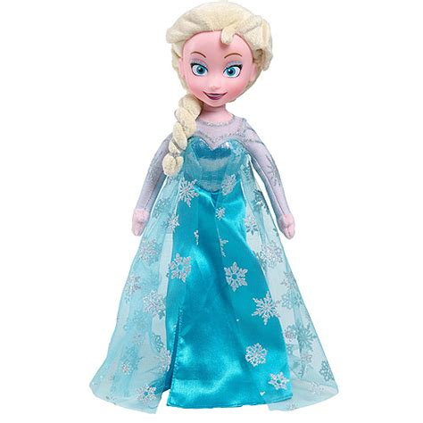 value of frozen doll frozen elsa soft plush doll walmart