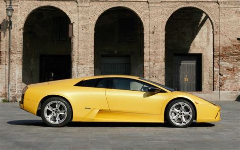 Lamborghini Side by Lamborghini Murcielago Side View Www Imgkid The