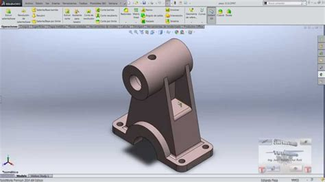 tutorial solidworks pdf 2013 curso de solidworks tutorial de solidworks en espa 241 ol
