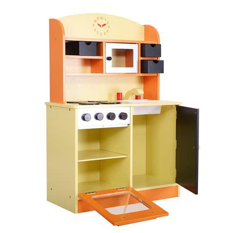 Rosalie Wooden Kitchen Playset Wood Kitchen Cooking Pretend Play Set Toddler