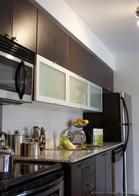 modern kitchen dark cabinets pictures of kitchens modern dark wood kitchens page 2