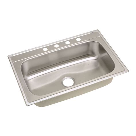 dayton stainless steel sinks elkay dpc133224 dayton stainless steel single bowl sink