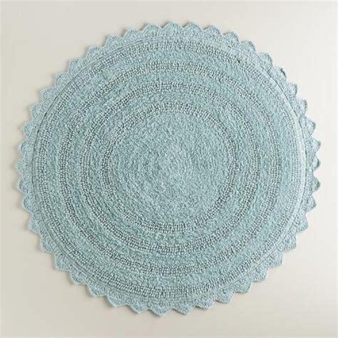 circular bath rugs blue bath mat world market