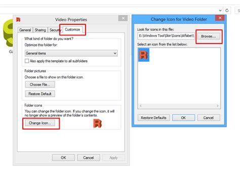 Cara Mengganti Format File Gambar | cara mengganti icon folder dengan gambar c4sp3r aria