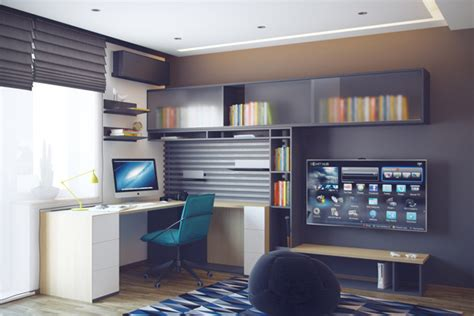 study space design cool teenage bedrooms by hqteam house design and decor