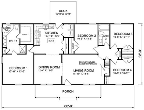 cheap 4 bedroom house plans affordable 4 bedroom house plans numberedtype
