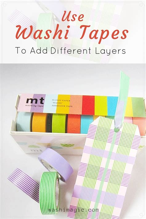 uses of washi tape use washi tapes to add layers for your projects make the