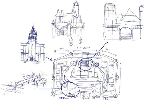 castle blueprint minecraft castle blueprints step planscazi house plans