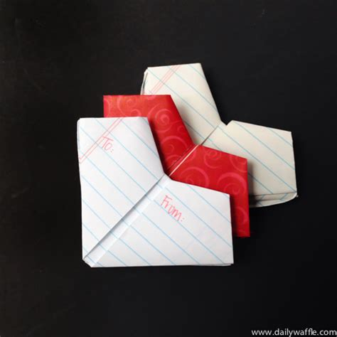 How To Fold Paper Notes - the lost of folding notes how to fold a s