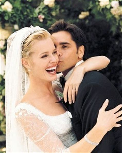 is john stamos married now rebecca romijn john stamos on their wedding day