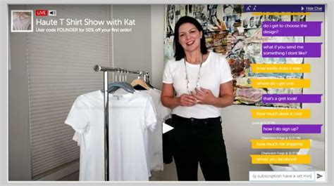 liveshopcast turns your ecommerce or retail store into a
