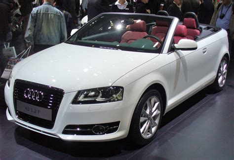 Audi A3 8p Cabrio by 2010 Audi A3 Cabrio 8p Pictures Information And Specs