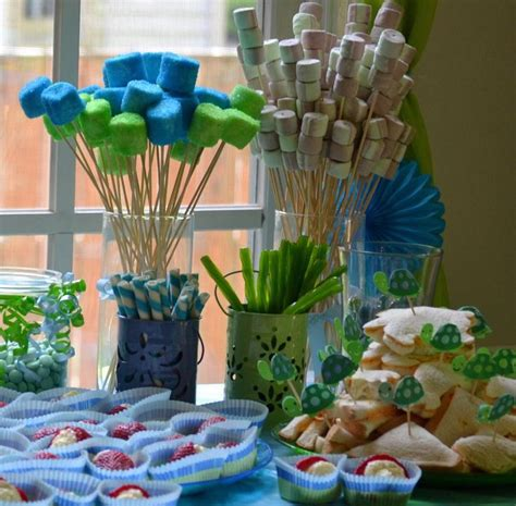 Turtle Themed Baby Shower Decorations by 12 Best Images About Robbin S Board On